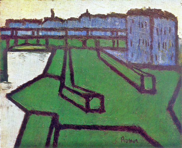 Landscape in green and blue - Ginés Parra - estudio-53